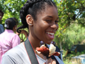 student in Jamaica